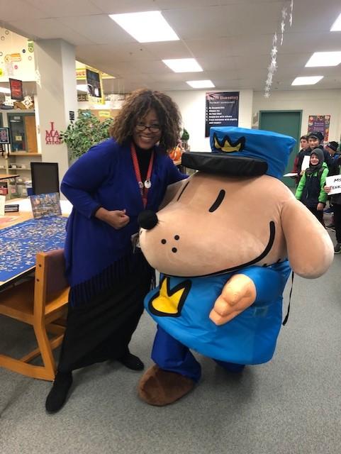 Ms. Jenkins & Dog Man